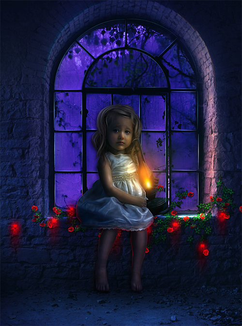 Create a Photo Manipulation Of a Lonely child in Photoshop
