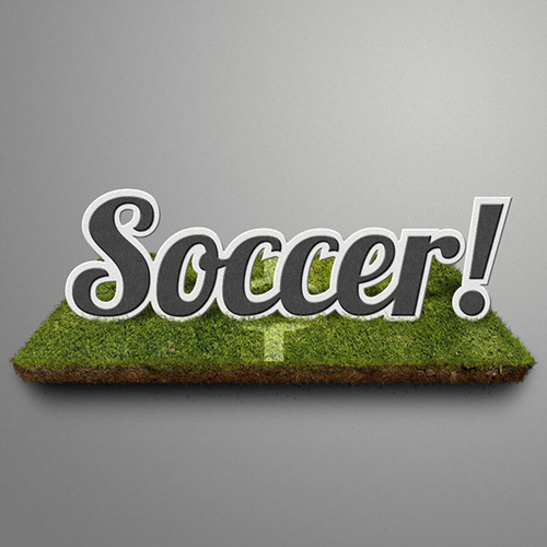 Create a Soccer-Themed Text Effect in Photoshop Tutorial