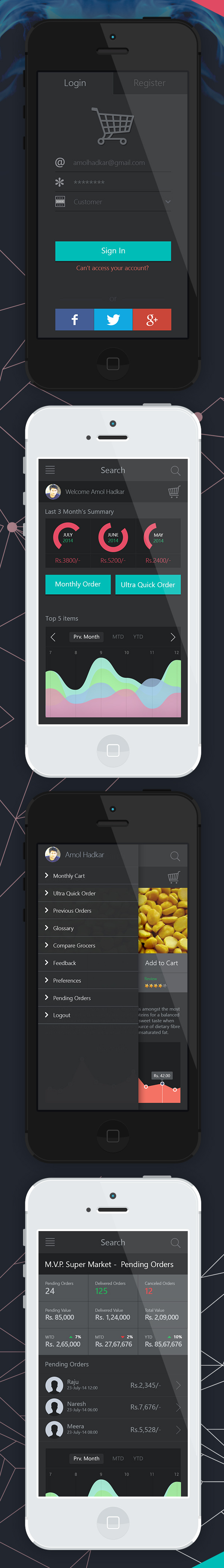 Shirt design app for iphone - Mobile App Ui Designs With Amazing User Experience