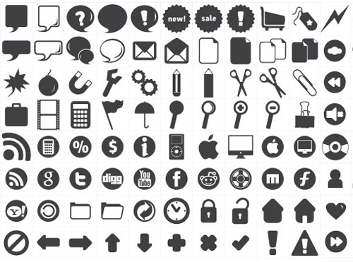 Free Vector Icons Set (120 Icons)