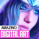 45 Amazing Digital Art Examples by Creative Designers