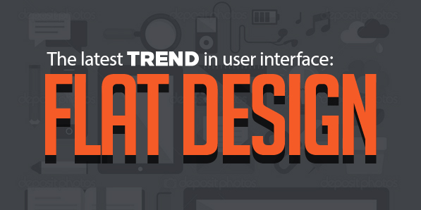 The latest trend in user interface: Flat Design