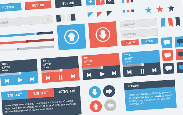 The latest trend in user interface: Flat Design | Articles ...