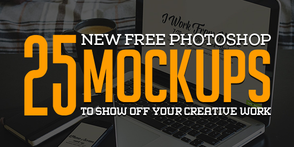 Best of 2014 - Free Photoshop PSD Mockups for Designers (25 MockUps)