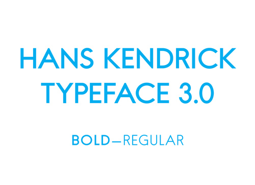Hans Kendrick free font family download