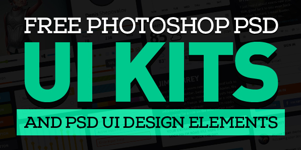 Free PSD UI Kits and PSD UI Design Elements for Designers