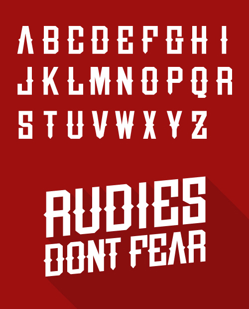 free font letters