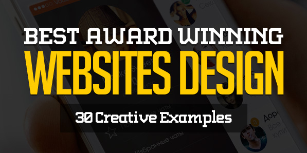 Best Award Winning Websites Design – 30 Examples