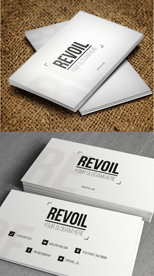 Designers Business Card PSD Templates - 10