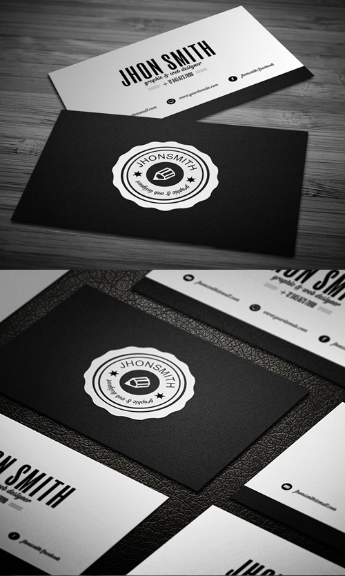 Designers Business Card PSD Templates - 11