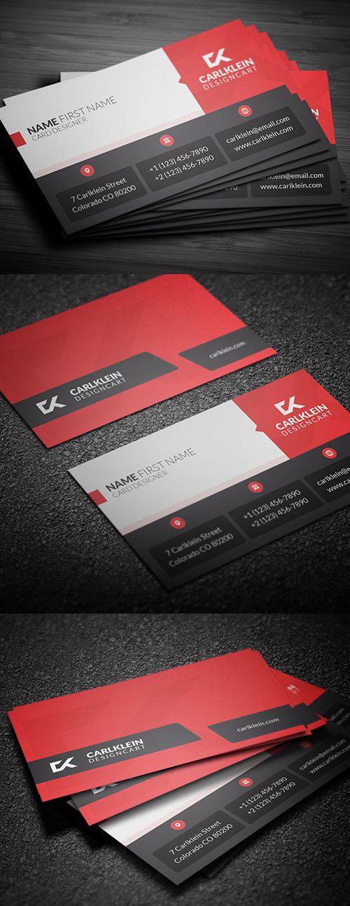 Designers Business Card PSD Templates - 14
