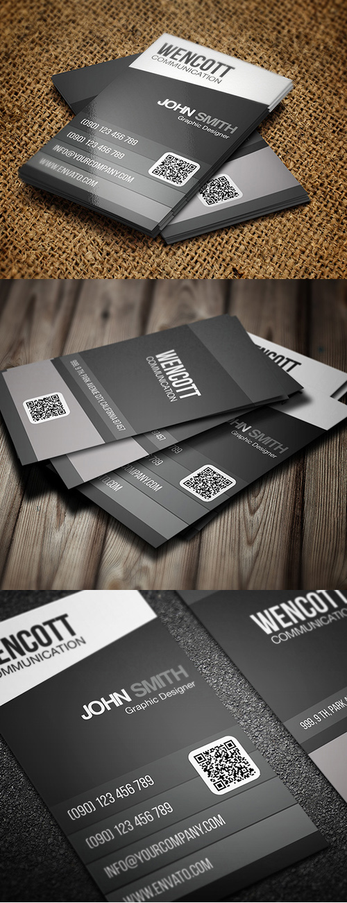 Designers Business Card PSD Templates - 8