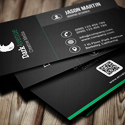 Post Thumbnail of 26 Designers Business Card PSD Templates