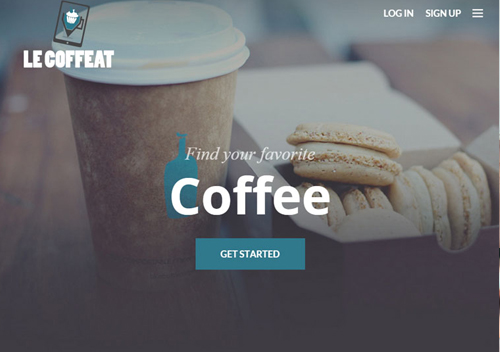 Le Coffeat HTML Template