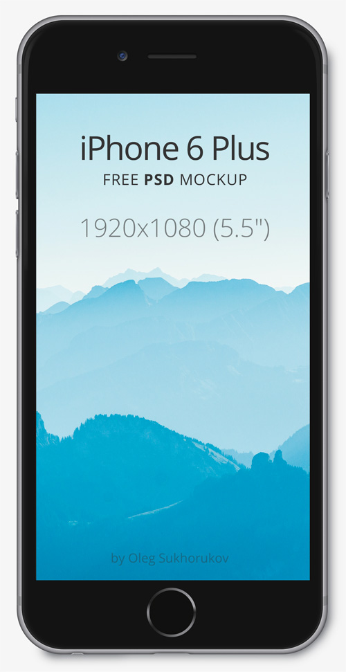 Free iPhone 6 and iPhone 6 Plus Mockup Templates (PSD, AI & Sketch) - Free Download - 19