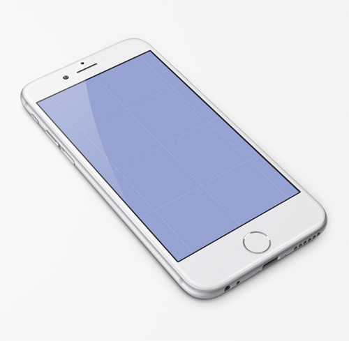 Free iPhone 6 and iPhone 6 Plus Mockup Templates (PSD, AI & Sketch) - Free Download - 34