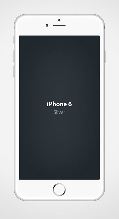Free iPhone 6 and iPhone 6 Plus Mockup Templates (PSD, AI & Sketch) - Free Download - 43