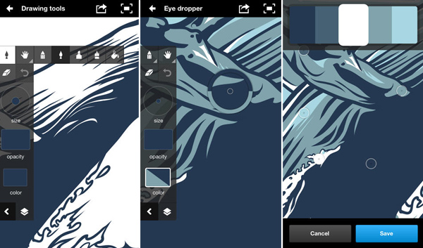 Adobe Ideas iPhone App for Designers