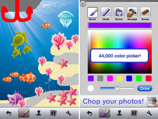 Doodle Buddy iPhone App for Designers