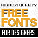 Post Thumbnail of 25 New Free Fonts for Graphic Designers