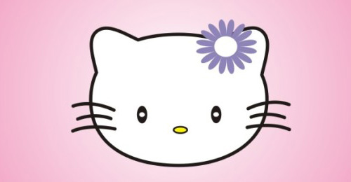 Create a Hello Kitty character in the CorelDRAW