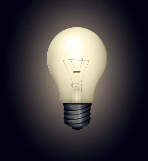 Bright Light Bulb Vector: Lights On in Under an Hour