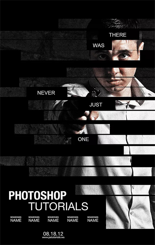 Create a Poster Inspired by the Movie - The Bourne Legacy