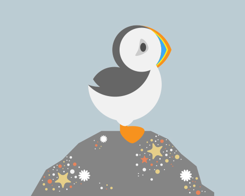 Create a Puffin in Adobe Illustrator