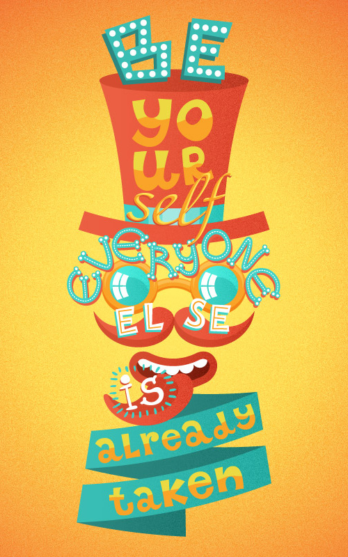 How to design a Crazy Retro Poster with Quirky Lettering in Adobe Illustrator