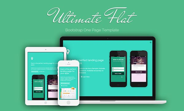 Flat Websites Design : 32 New Flat Web Design Examples 2