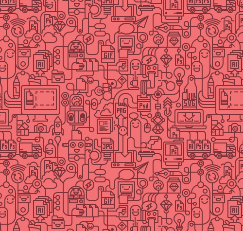 Pattern Design – 35 Seamless Free Vector Patterns ...