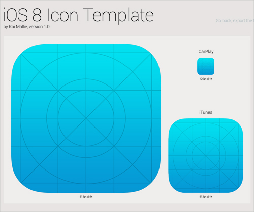 ios 8 icon template gimp