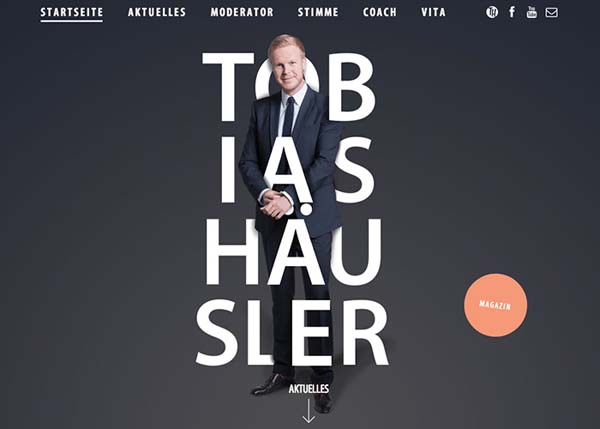 HTML5 Websites Design - 28 Examples