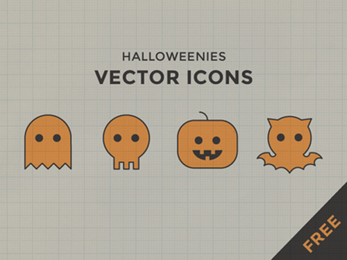 Halloweenies Free Icons