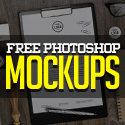 Post Thumbnail of Fresh Free Photoshop PSD Mockups for Designers (27 MockUps)