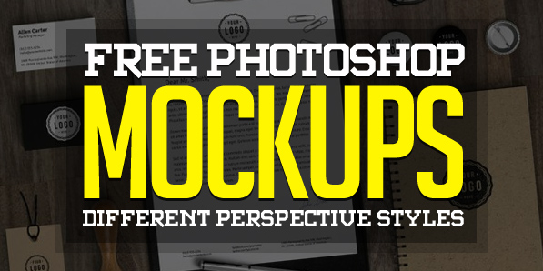 Best of 2014 - Fresh Free Photoshop PSD Mockups for Designers (27 MockUps)