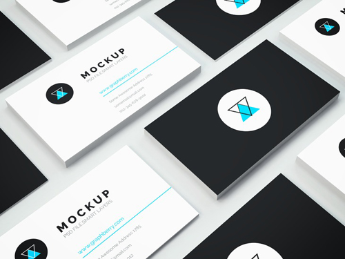 Freebie - Business Card PSD Mockup