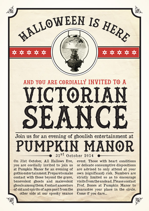 Design a Victorian Halloween Poster in Adobe InDesign