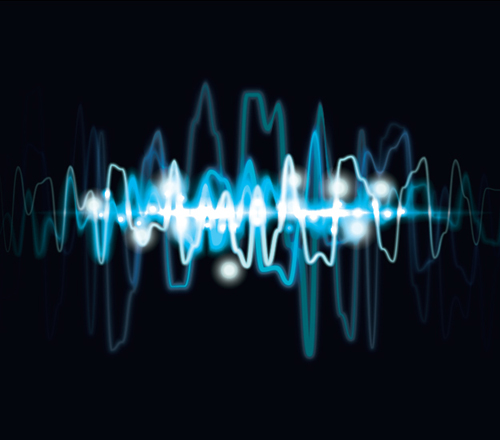 How to create an abstract audio wave light effect background in Illustrator Tutorial