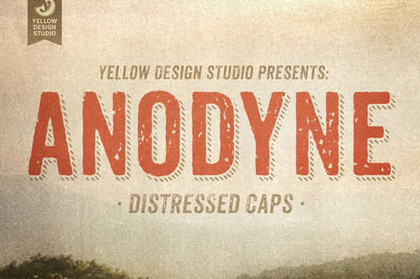 Anodyne Complete Font Family