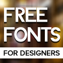 22 New Free Fonts for Designers