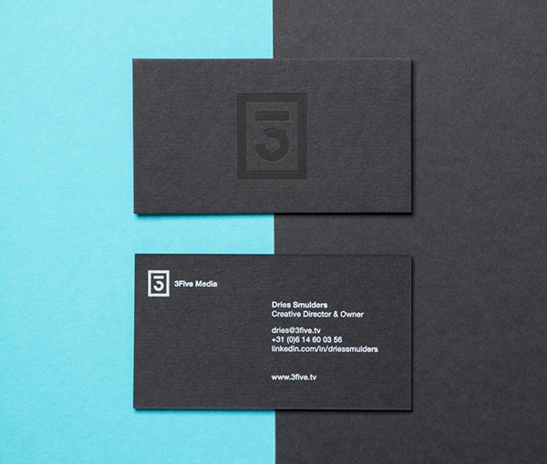 3Five Media Branding Business Card