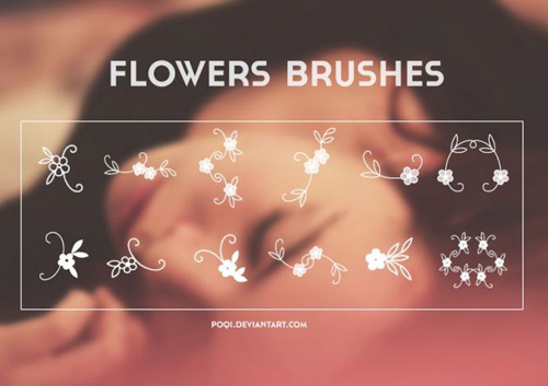 Flowers Brushes for Photoshop
