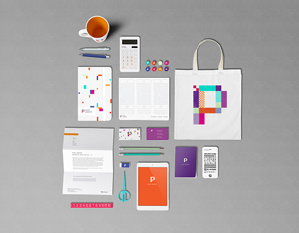 Pixel Awards	 Stationery Items