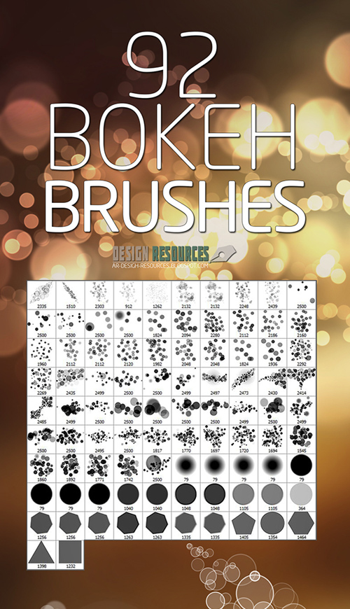 Bokeh Brushes for Photoshop