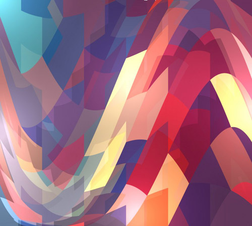 Abstract Wave Pattern Free Vector