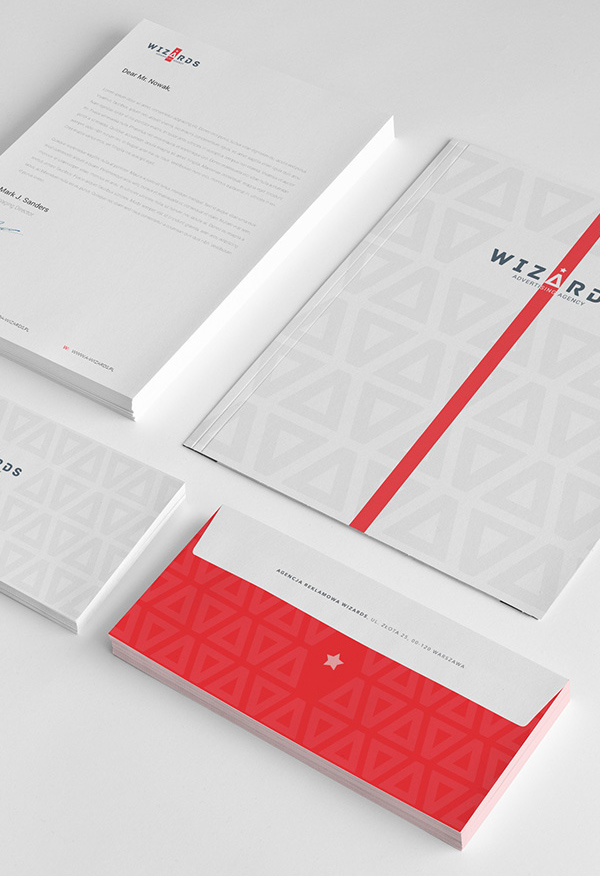 Wizards Agency - Branding Stationery Items