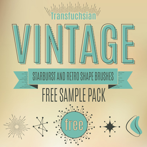 Free Vintage Illustrator Brushes