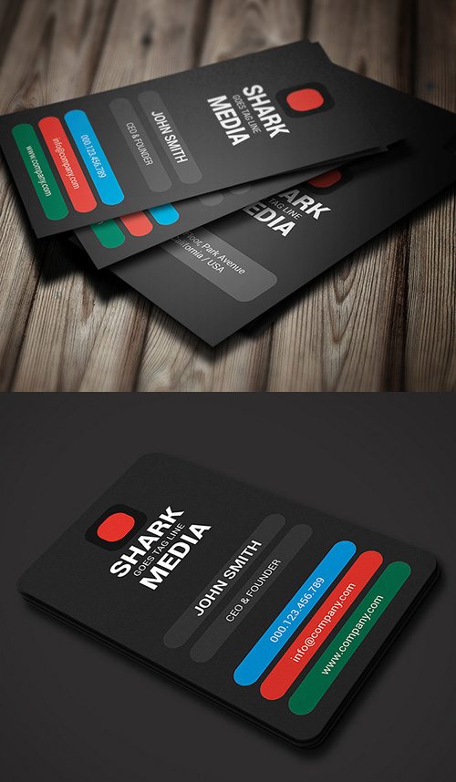Color Business Card
