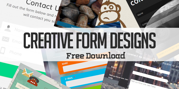 14 Free Creative Form Designs